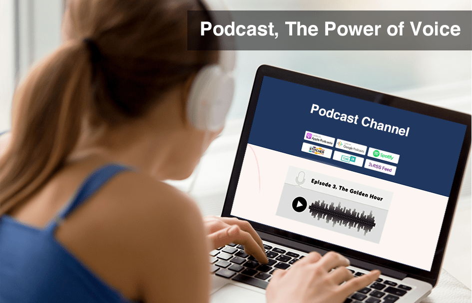 Ride The Voice Technology Wave Via Podcasting